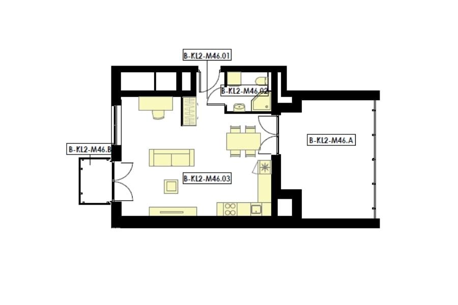 mieszkania 1 pokojowe z tarasem i balkonem rzeszów