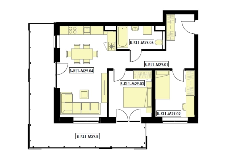 mieszkania 2 pokojowe z balkonem rzeszów